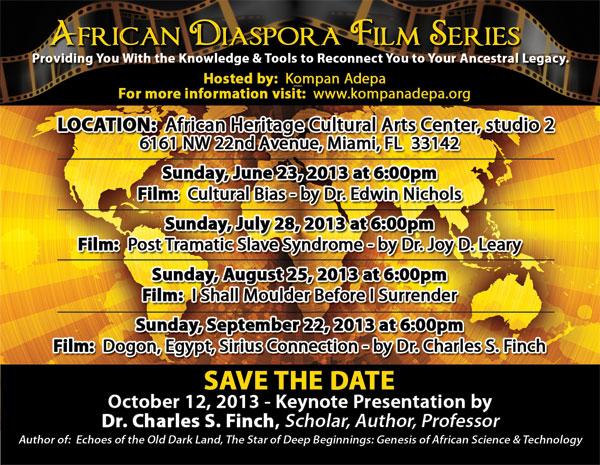 African Diaspora Film Series