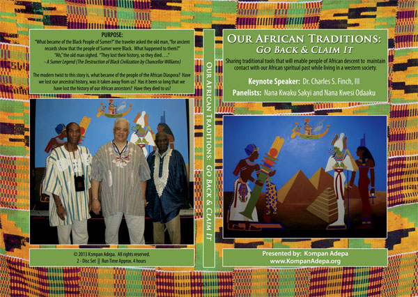 Our African Traditions Conference DVD cover