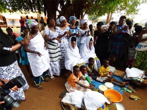 Bragoro ceremony in Ghana